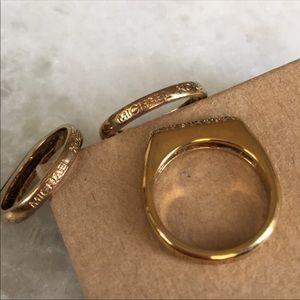 Michael Kors Jewelry - Michael Kors Stackable Rings